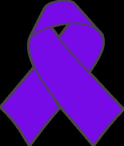 252x297 Purple Cancer Ribbon Clip Art 101 Clip Art