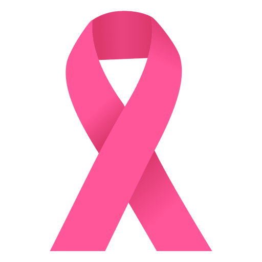 512x512 Breast Cancer Pink Ribbon Illustration