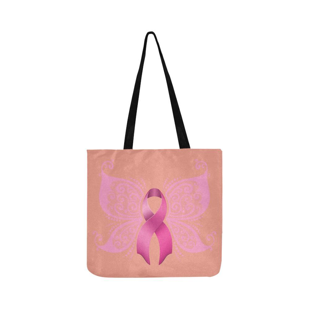 1000x1000 Butterfly Pink Ribbon Breast Cancer Awareness Reusablewater