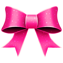 256x256 Free Pink Ribbon Clip Art