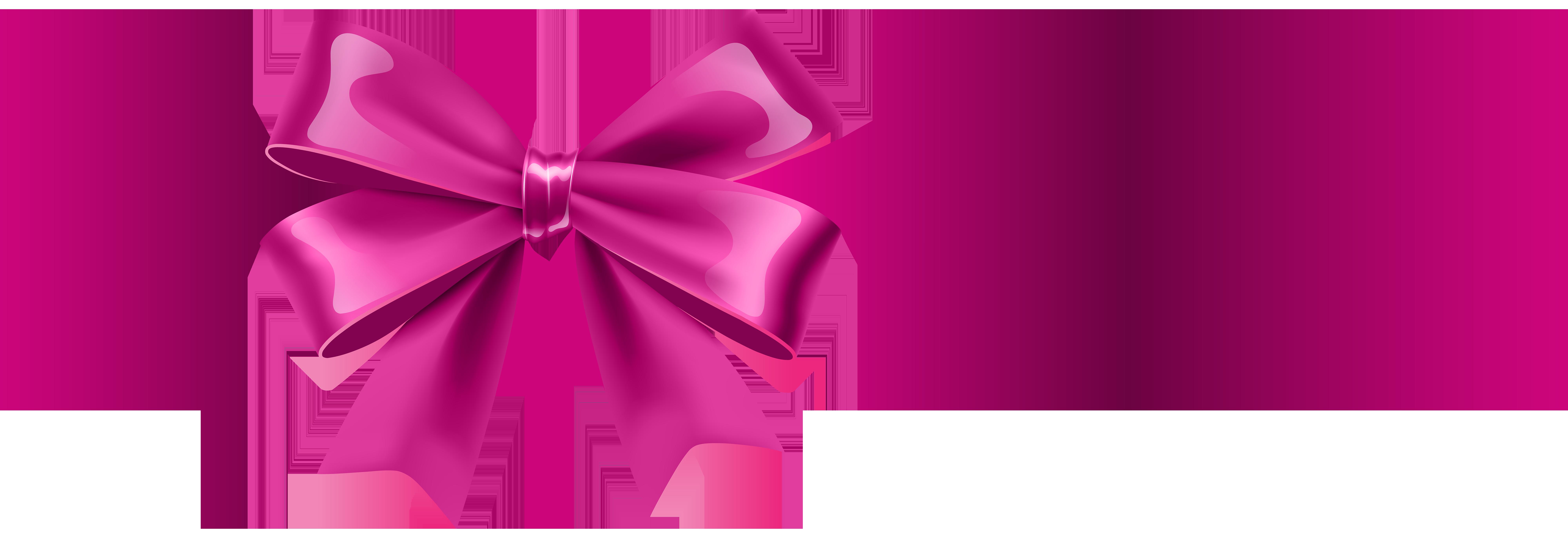 8000x2736 Pink Bow Transparent Clip Artu200b Gallery Yopriceville