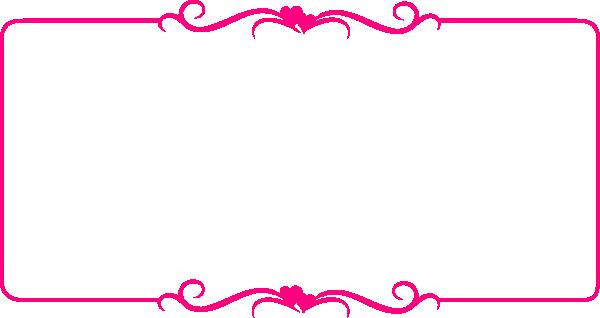 600x318 Pink Ribbon Heart Clipart