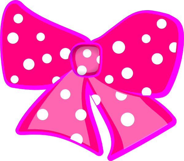 600x524 Pink Dot Clipart