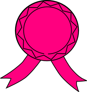 282x299 Pink Ribbon Clip Art