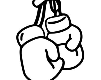 340x270 Boxing Glove Clipart