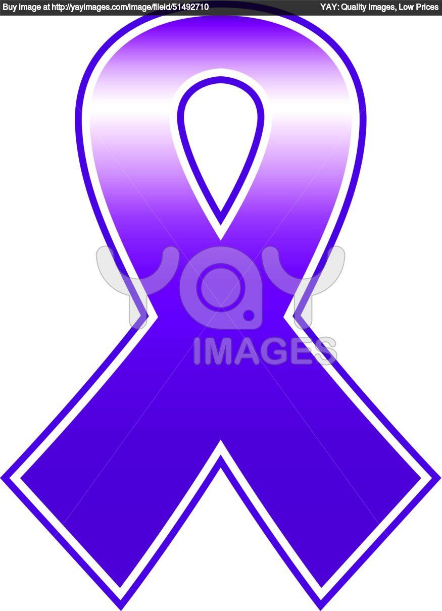 875x1210 Cancer Ribbon Outline