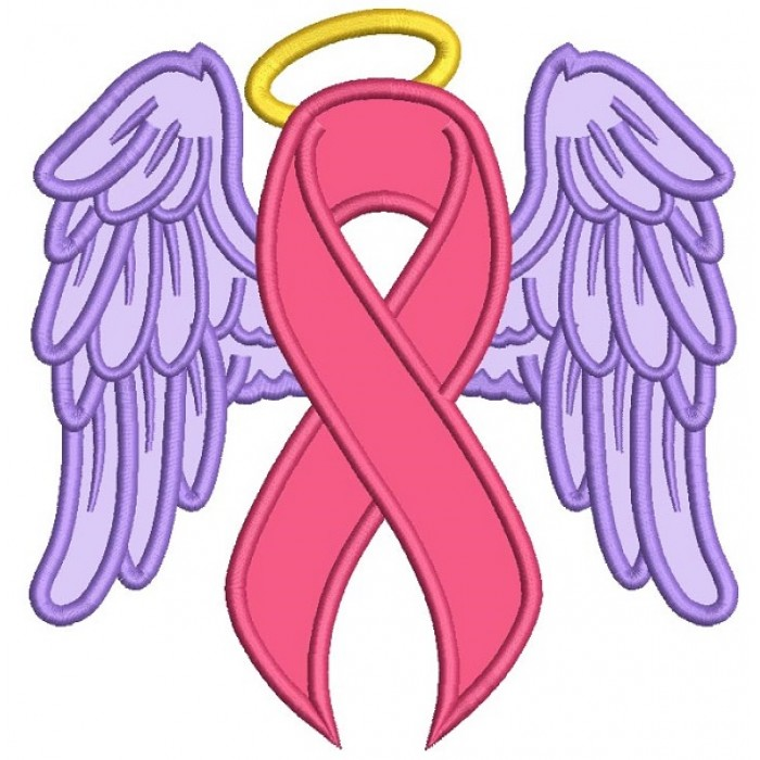 700x700 Angel Wings Breast Cancer