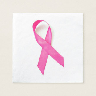 324x324 Breast Cancer Awareness Paper Napkins Zazzle