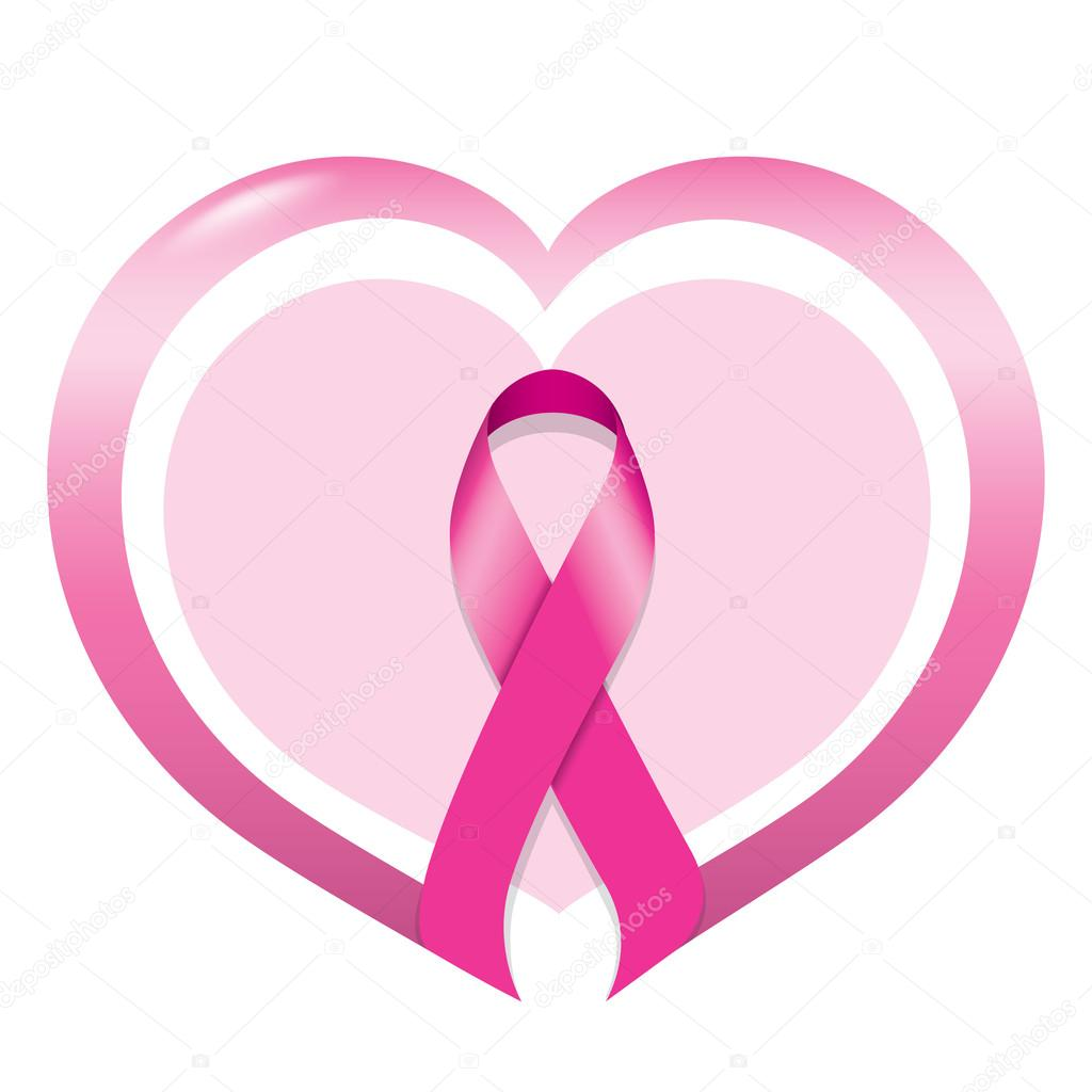 1024x1024 Icon Symbol Of Struggle And Awareness Against Breast Cancer, Pink