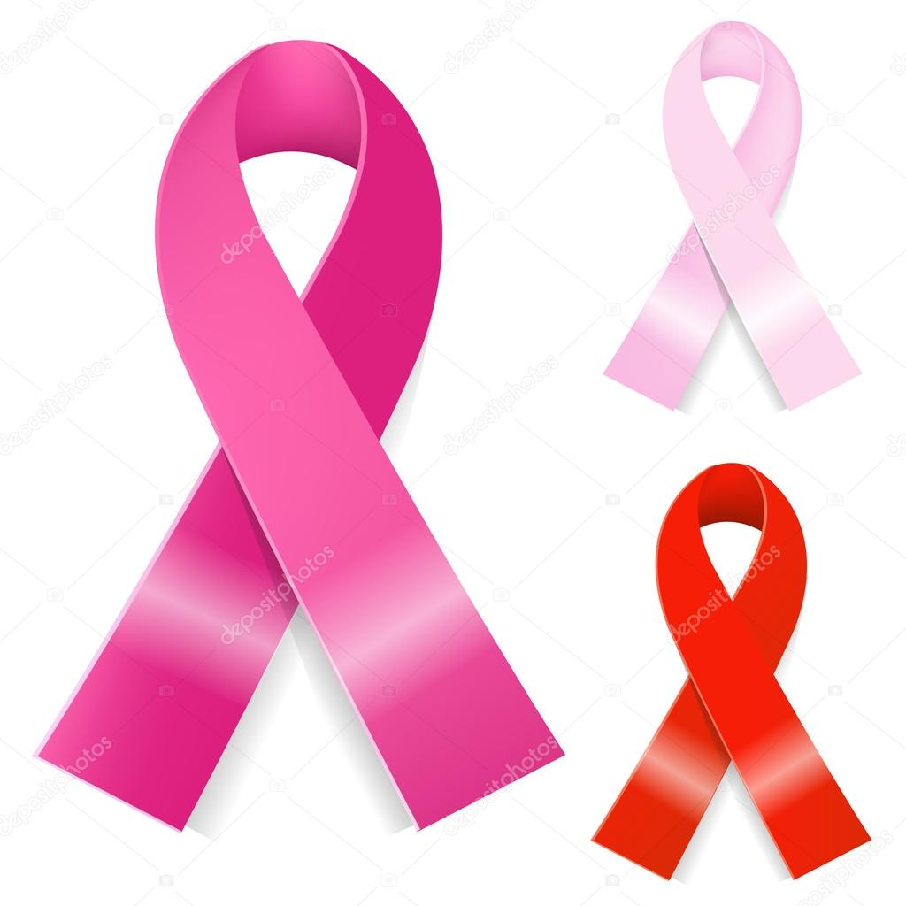 1024x1024 Breast Cancer Ribbon Stock Vector Sammep