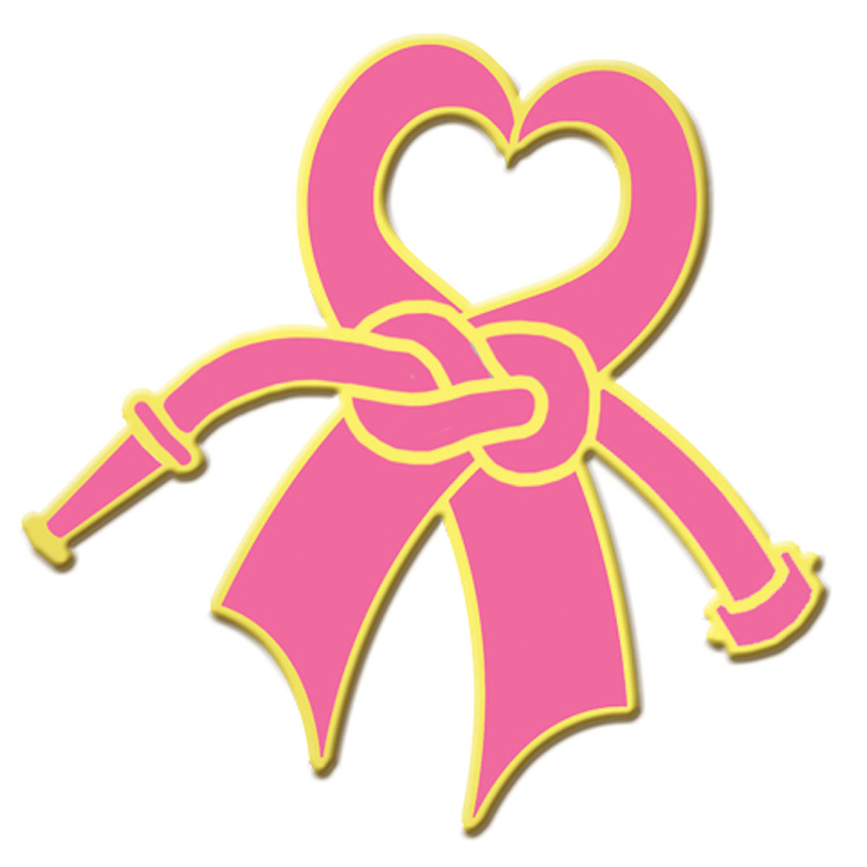 1500x1500 Blackinton Gold Plate Breast Cancer Awareness Heart Ribbon Lapel