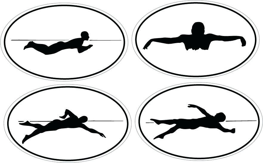 882x548 Swim Clipart Swimming Goggles Swimming Clipart Free Black