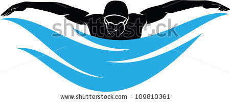 450x199 Swimming Clipart Breaststroke Swimming