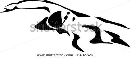450x200 Swimming Clipart Butterfly Stroke