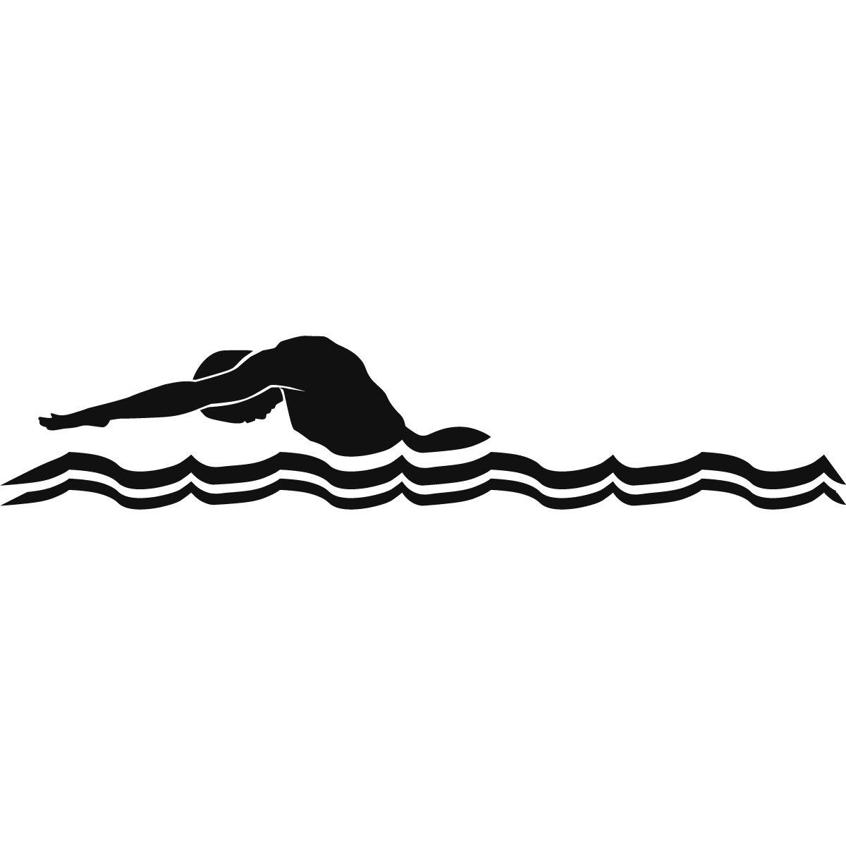 1200x1200 Clip Art Male Swimmer Butterfly Stroke Green Swimming Swimming