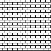 170x170 Clipart Of Seamless Brick Wall K16907085