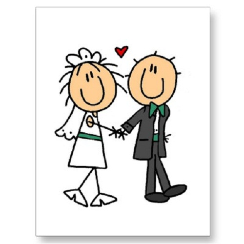 500x500 Clipart Bride And Groom Many Interesting Cliparts