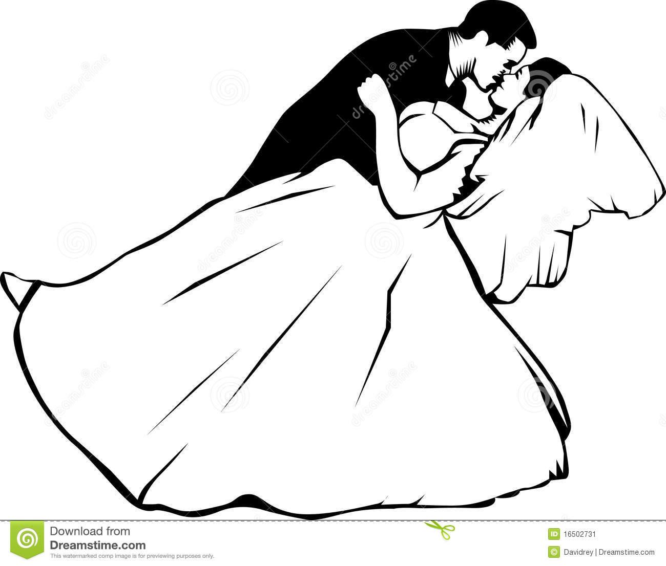 1300x1106 Kisses Clipart Retro Wedding
