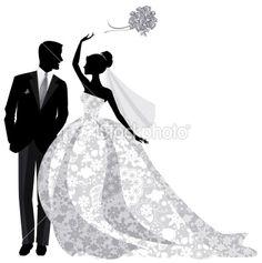 236x237 Beautiful Bride And Groom Just Married! Bride Is Wearing Beautiful