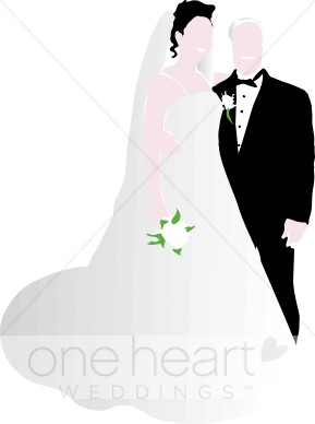 289x388 Clip Art Wedding Couple Bride Clipart