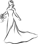 147x168 Free Bridal Clipart