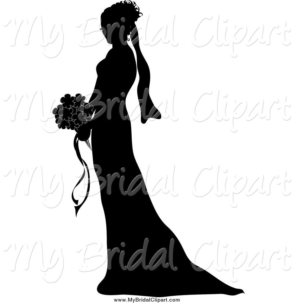 1024x1044 Bridal Silhouette Clip Art