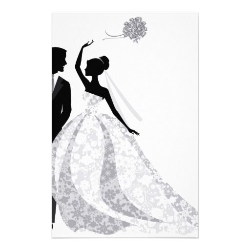 512x512 Bride Groom Cartoon