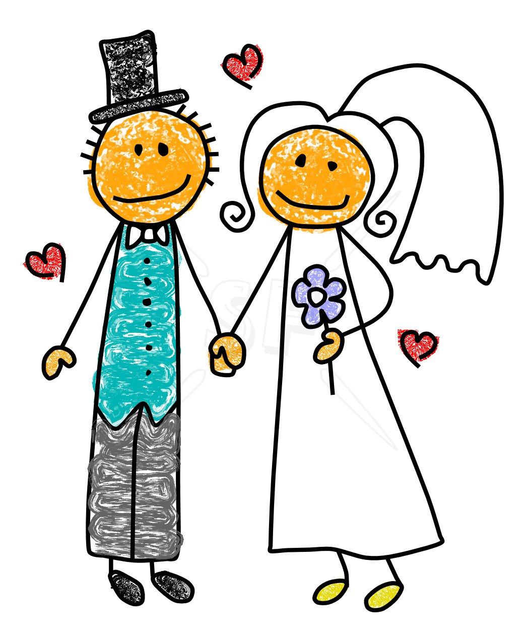 1050x1275 Bride Clip Art
