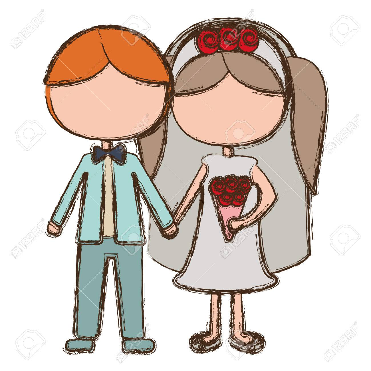 1300x1300 Blur Clipart Bride And Groom
