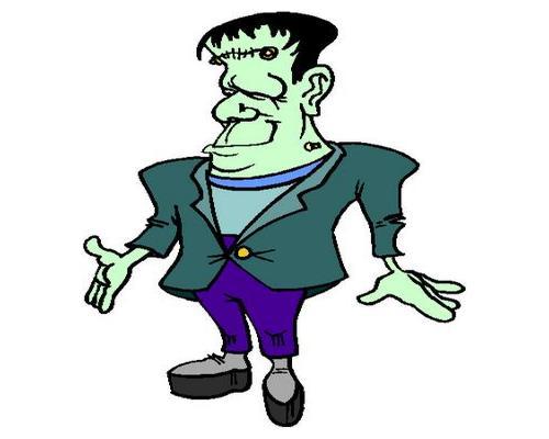 500x400 Bride Of Frankenstein Clipart Mrs