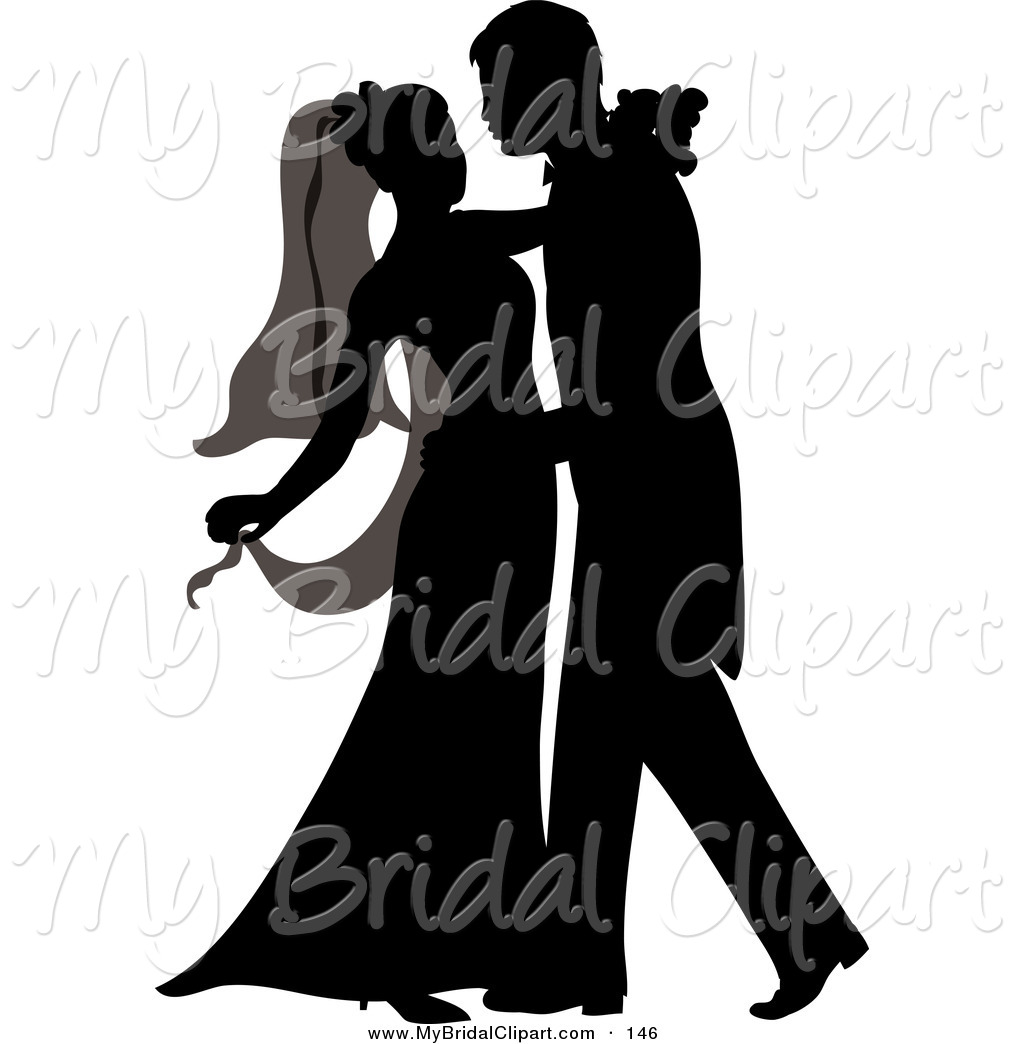 1024x1044 Wedding Dress Clipart Couple Silhouette