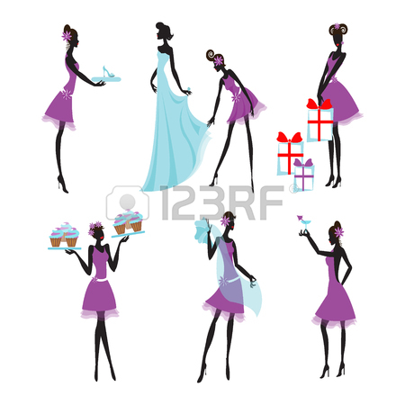 Bridesmaid Clipart