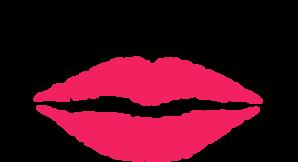 298x162 Bridesmaid Pink Lips Clip Art