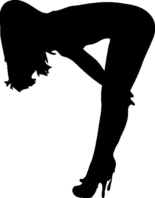 512x654 Clipart Silouhette