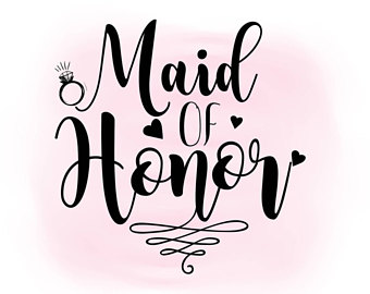340x270 Maid Of Honor Svg Etsy