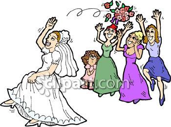 350x260 Bouquet Clipart Bridesmaid