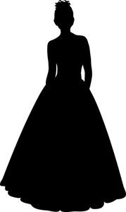179x300 Bridesmaid Dress Silhouette Clip Art Clipart Panda