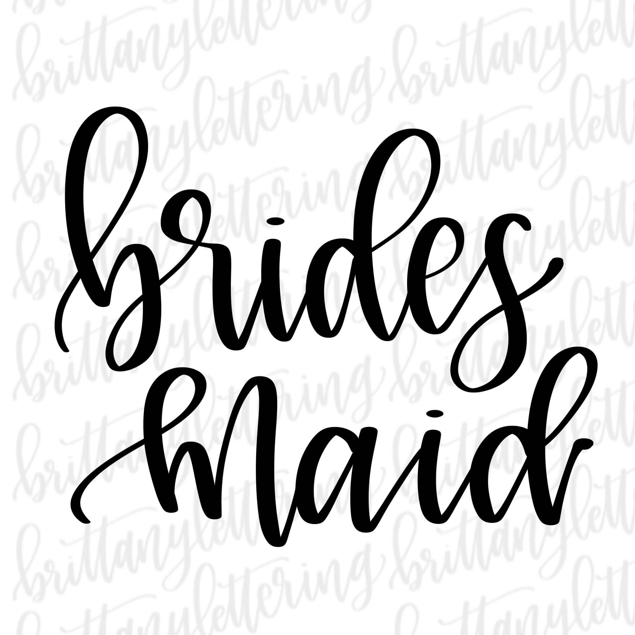 2048x2048 Bridesmaid Svg, Bridesmaid, Wedding Svg, Cricut Svg, Silhouette