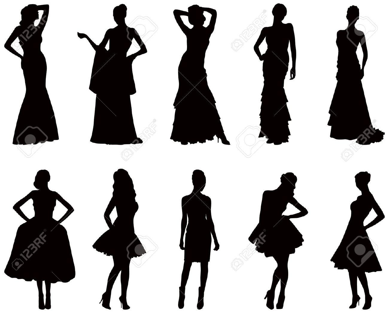 1300x1047 Gown Clipart Womens Dress