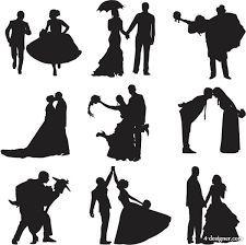 225x224 69 Wedding Party Silhouettes Wedding, Bride, Bridesmaid