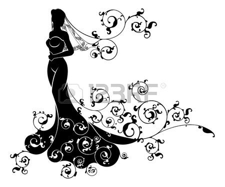 450x375 774 Bridesmaid Stock Vector Illustration And Royalty Free