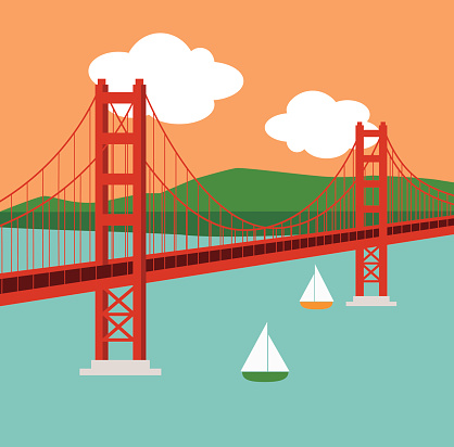 418x412 Golden Gate Bridge Clipart Free Clip Art Of Bridge Clipart 534