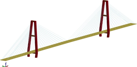 578x284 Dynamic Response Of Cable Stayed Bridge Under Blast Load