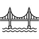 128x128 Golden Gate Bridge Vectors, Photos And Psd Files Free Download