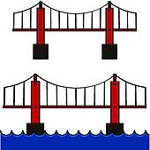 170x169 Bridges Clip Art