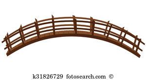 300x165 Clip Art Wooden Bridge Cliparts