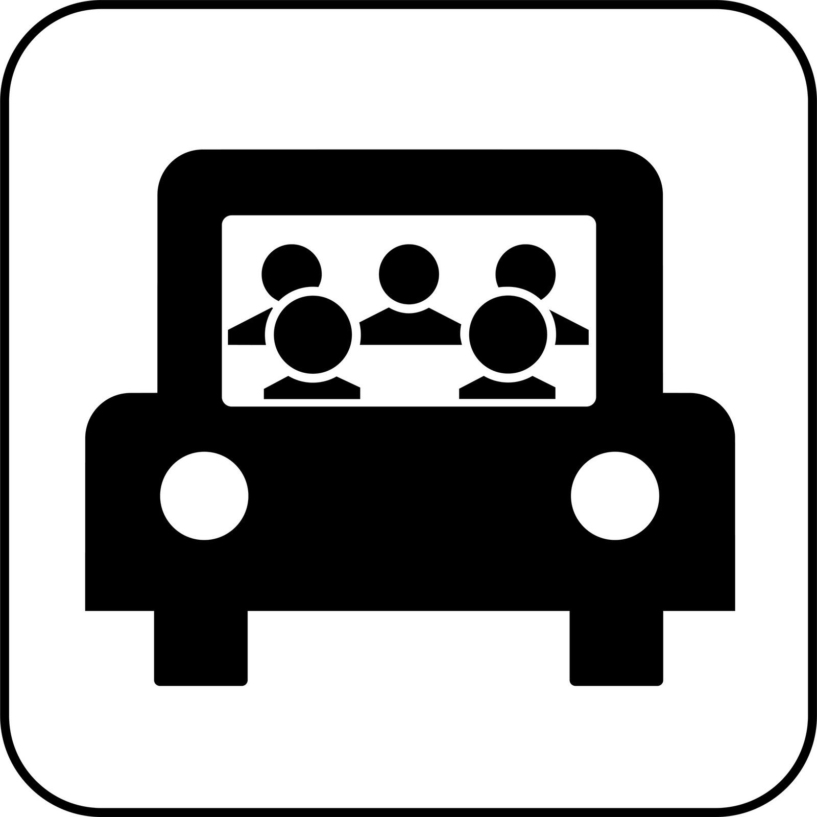 1600x1600 Carpool Clipart