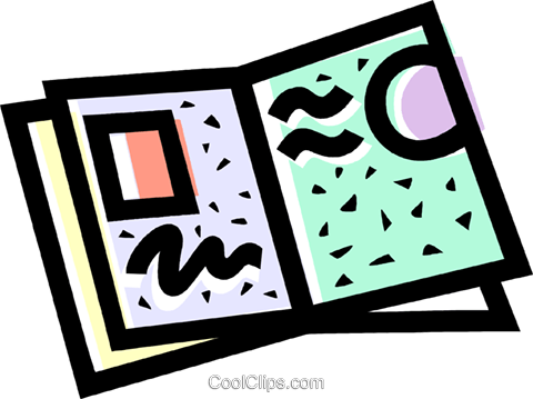 480x359 Clip Art Brochures Cliparts