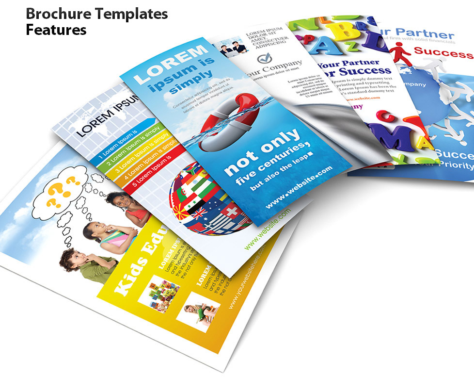 978x777 Brochure Templates Features