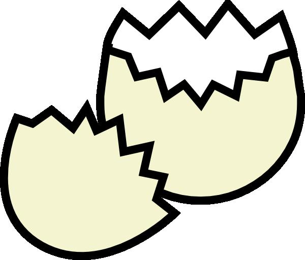 600x512 Cracked Egg Clip Art